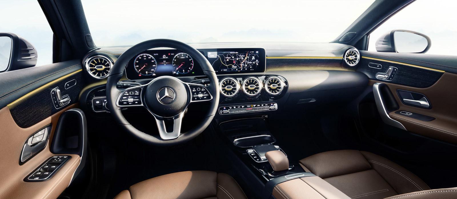 Foto de Mercedes-Benz Clase A 2018: impresiones del interior (7/28)