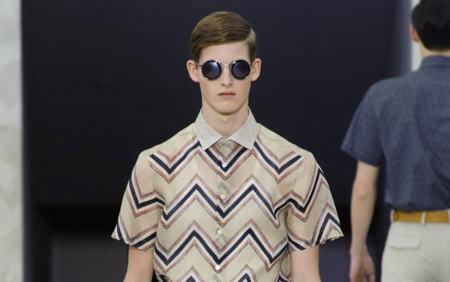El print chevron de Louis Vuitton llega a Bershka para la primavera