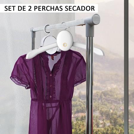 Comprar 2 perchas secador al mejor precio online: 12,99 euros y envío gratis en Amazon