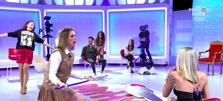 ¡Buenísimo! Nagore Robles y María Jesús Ruiz recrean el vídeo viral de Aurah Ruiz intentando entrar en casa de Jesé Rodríguez