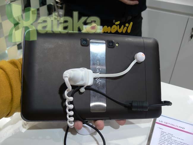 Foto de LG Optimus 3D y LG Optimus Pad en el MWC (4/11)