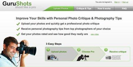 ¿Estás empezando en el mundo de la fotografía? En GuruShots recibirás criticas de profesionales a tu trabajo
