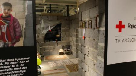 Ikea recauda fondos para Cruz Roja recreando en una de sus tiendas una casa siria
