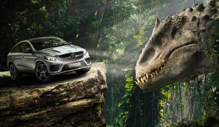 En Jurassic World se llevarán los Mercedes-Benz