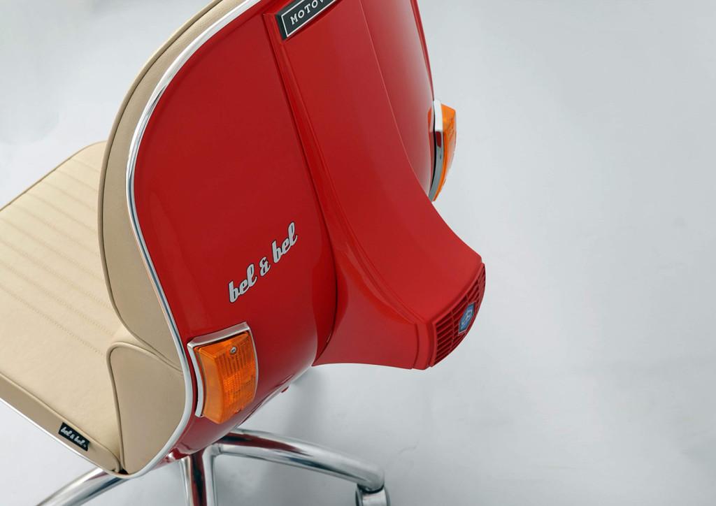 Scooter chair una silla para que tu d a a d a en la oficina vaya sobre ruedas - Sillas la forma ...