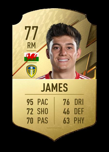 Daniel James FIFA 22