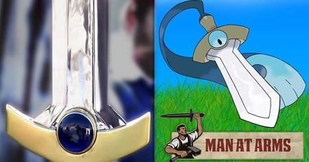 Man at Arms recrea a Honedge de Pokémon X & Y