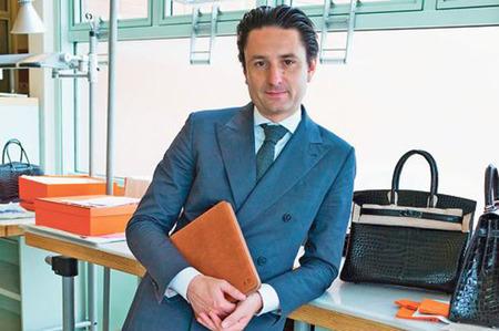 Axel Dumas sucederá a Patrick Thomas al frente de Hermès