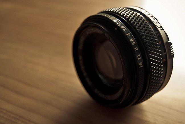 Objetivo Olympus 50mm 1.8