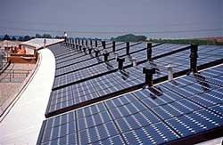 Primeras placas solares para días nublosos