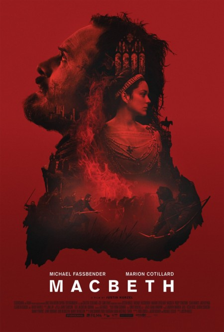 Póster final en rojo de Macbeth