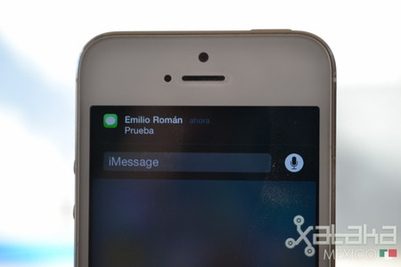 Mensajes rápidos en iOS 8