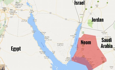 Neom En El Mapa