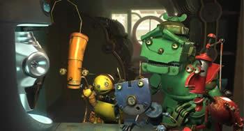 Llegan los Robots
