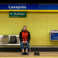 """'De Madrid al Metro': El proyecto fotográfico del humor """"lineal"""""""