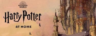 Harry Potter at Home: la web para niños y fans donde J.K. Rowling lanza un hechizo contra el aburrimiento durante la cuarentena