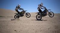 Storm Troopers jugando en las dunas de Tatooine