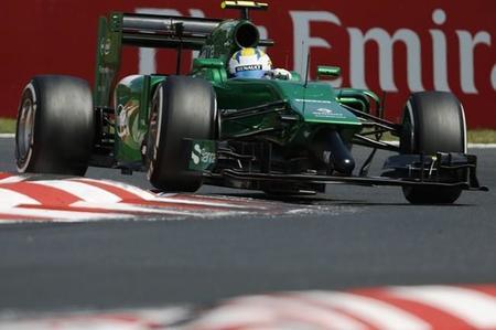 Caterham montará un nuevo morro en Spa-Francorchamps