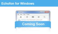 """Los creadores de Echofon anuncian una versión para Windows, y lanzan """"Photofon"""" para iPhone"""