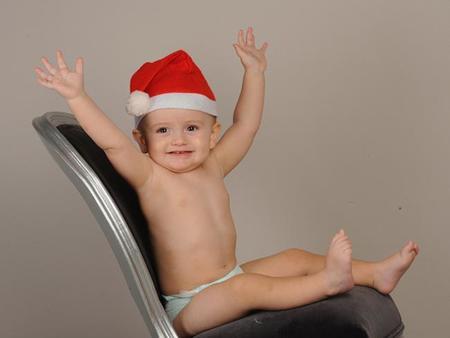 La foto de tu bebé: Nicolás os desea ¡Feliz Navidad!