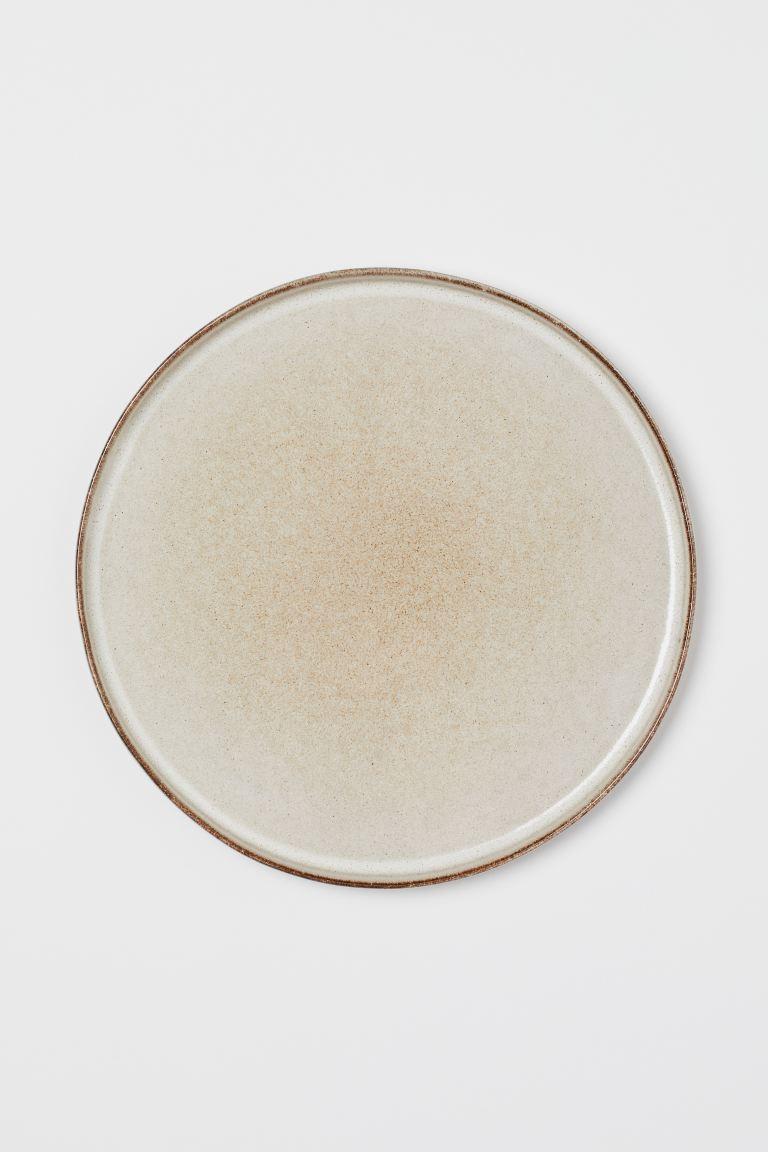 Plato grande de cerámica