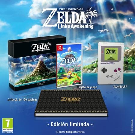 Zelda Link's Awakening - Edición Limitada