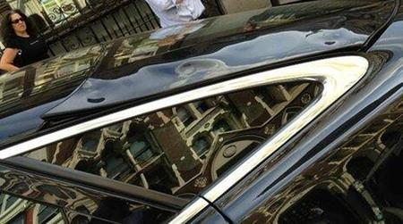 Jaguar derretido Londres