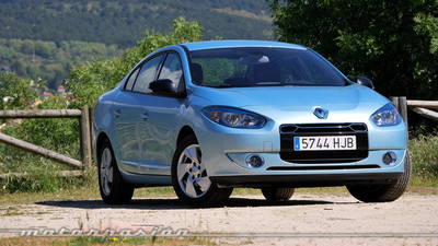 Renault Fluence Z.E., prueba (exterior e interior)