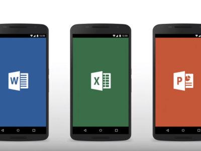 Microsoft Office apps añaden soporte para tarjetas SD y escritura a mano alzada