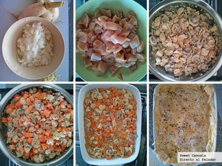 Preparación Cacerola