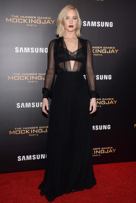 Jennifer Lawrence Estreno Juegos Del Hambre Nueva York Schiaparelli 2