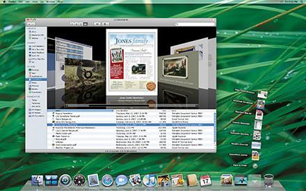 Mac OS X Leopard: Interfaz