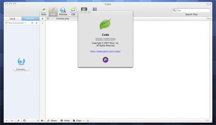 Coda 1.0.3, reordenación de pestañas, ASP/VBscript y ColdFusion