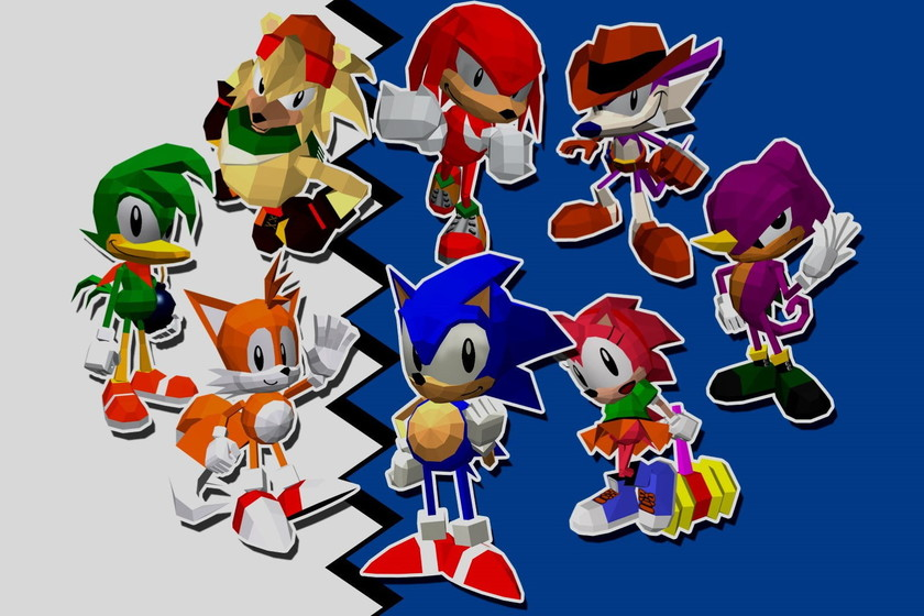 Retroanálisis de Sonic the Fighters, el debut en 3D de la legendaria mascota de SEGA
