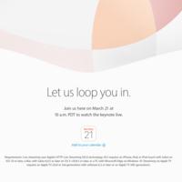 Apple transmitirá vía streaming su keynote del 21 de marzo