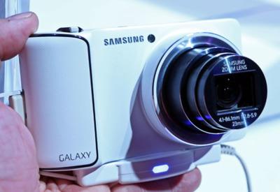 Samsung Galaxy Camera. Toma de contacto