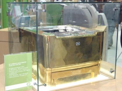 La impresora más cara del mundo... de HP