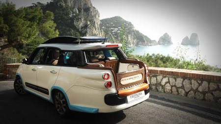 """Así es el taxi que ha creado Castagna Milano con el Fiat 500L Living, ¿una """"castagna""""?"""