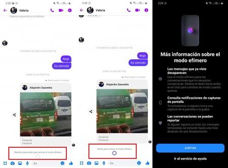 Como Activar Modo Efimero Facebook Messenger