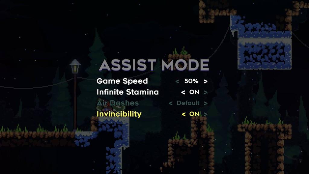 Celeste Assist Mode