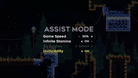 Celeste Assist Mode