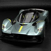 ¡Sólo de circuito! El AMR Track Performance Pack saca lo más radical del Aston Martin Valkyrie