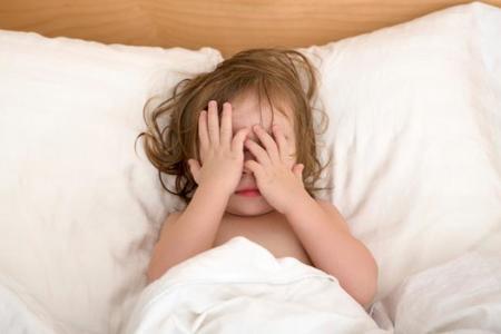 Niños que duermen alterados