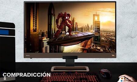 Más barato que nunca: con un 24% de descuento, el monitor gaming BenQ EX2780Q lleva casi 100 euros de descuento y envío gratis en PcComponentes