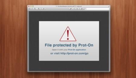 Prot-on: un DRM alternativo para proteger libros electrónicos y otros archivos