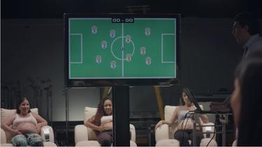 El primer partido de fútbol jugado por bebés que todavía no nacieron