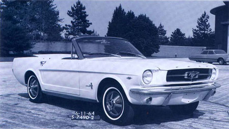 1964 Ford Mustang Two-Seater Prototype