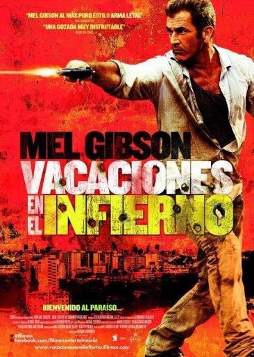 'Vacaciones en el infierno', cartel final español de lo nuevo de Mel Gibson