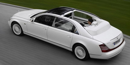 Maybach 62 Landaulet, el Maybach descapotable
