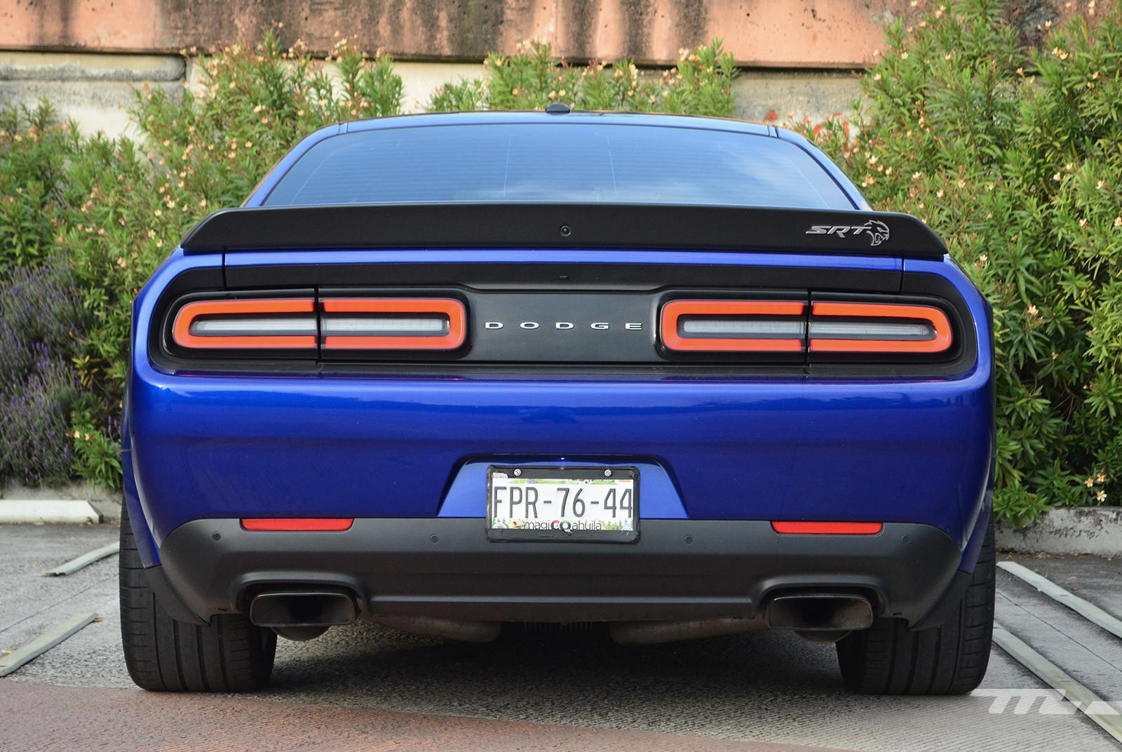 Dodge Challenger SRT Hellcat Widebody Redeye (prueba)